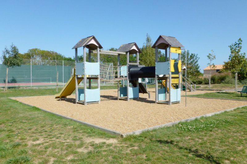 speeltuin op het vakantiepark